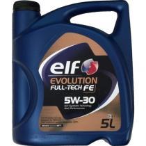 ELF ACEITES 5L 5W30 - EVOLUTION FULL-TECH  FE  5W-30