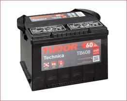 TUDOR BATERIAS TB608 - TUDOR TECHNICA*